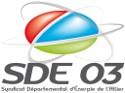 logo du SDE 03 Territoire d'énergie de l'allier
