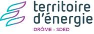 logo du SDED Territoire d'énergie de la drôme